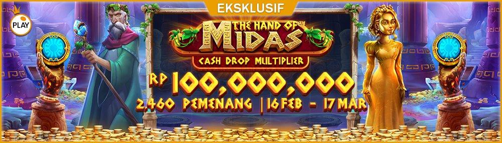 PP The Hand of Midas Cash Drop Multiplier